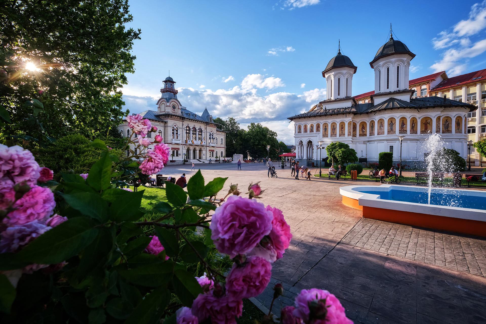 Vizita Targu Jiu - Centru Targu Jiu