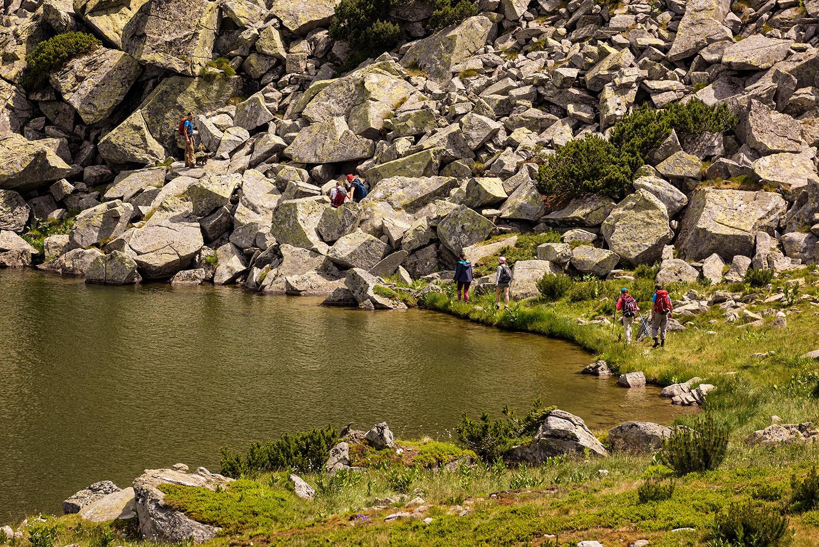 Lacul Calcescu din Muntii Parang