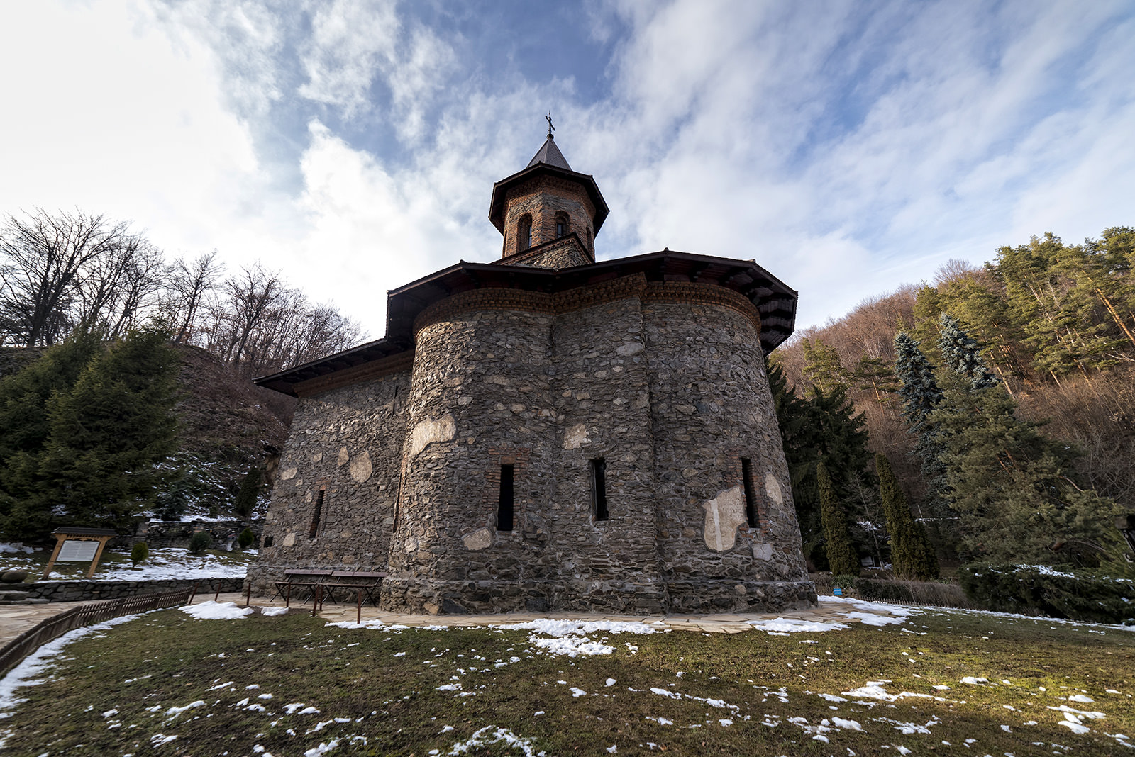 Tara Hategului - Manastirea Prislop