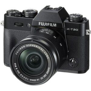 Aparate foto pentru calatorii Fujifilm X-T20