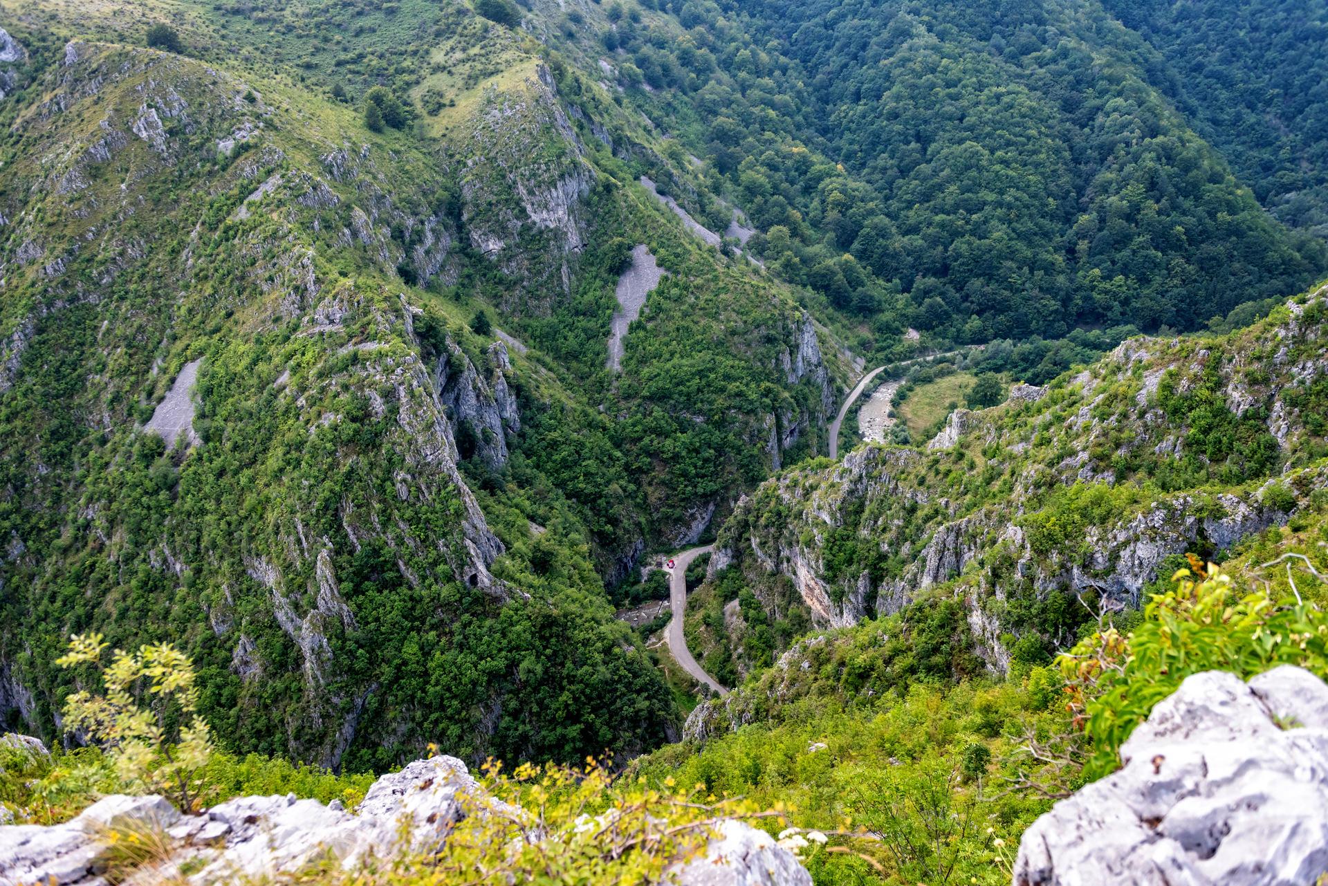 Cheile Sohodolului - Panorama de la Inel