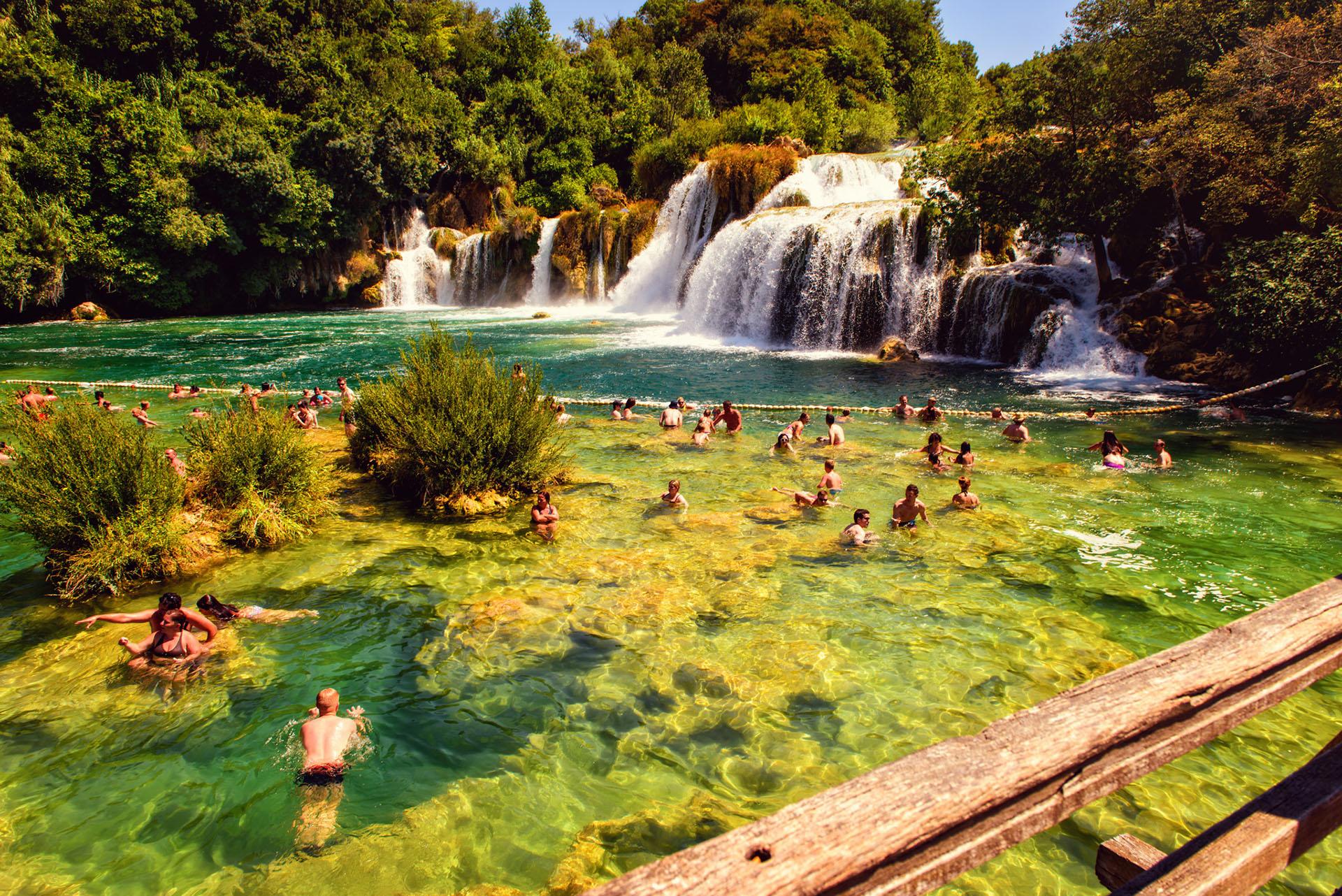 Krka parc national Croatia