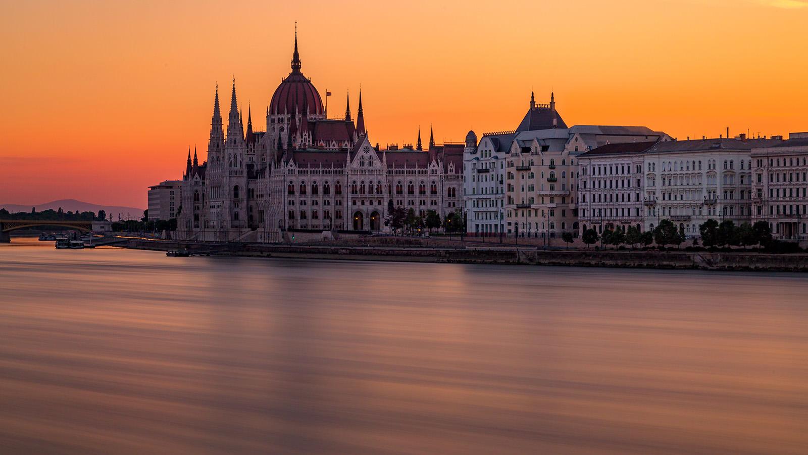 Budapest Panorama Parlament