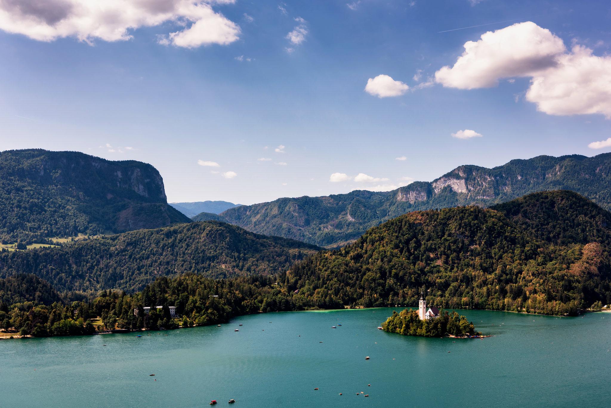 Destinatii Turistice Slovenia - Lacul Bled Slovenia