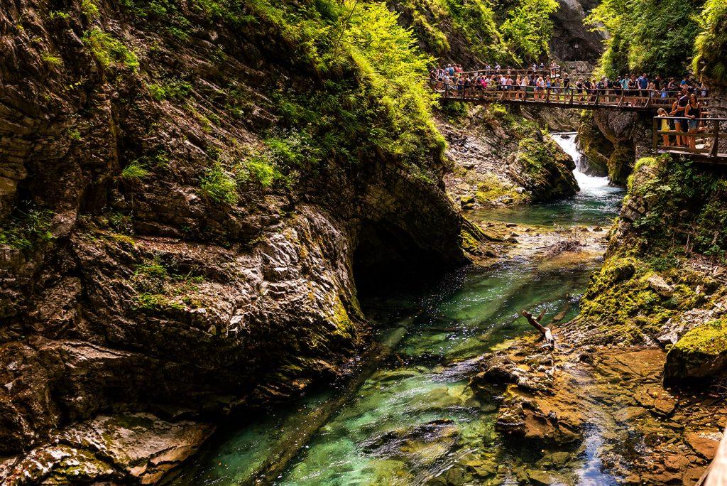 Lacul Bled - Slovenia - Canionul Vintgar