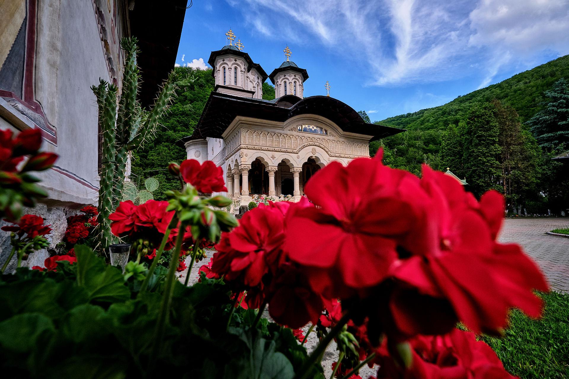 Manastirea Lainici Biserica Noua